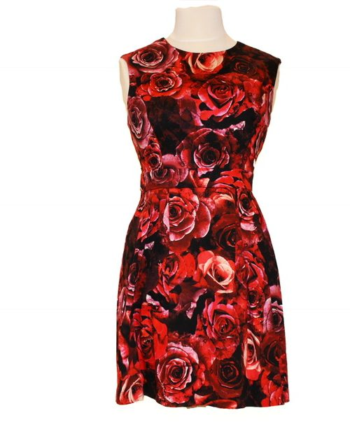 'Pre-Loved' Dorothy Perkins Skater Dress from Silhouette London, Dress specialists in London