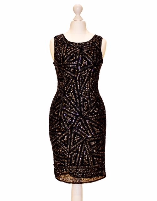 'Pre-Loved' TFNC Sequin Dress from Specialist Dress Boutique Silhouette London