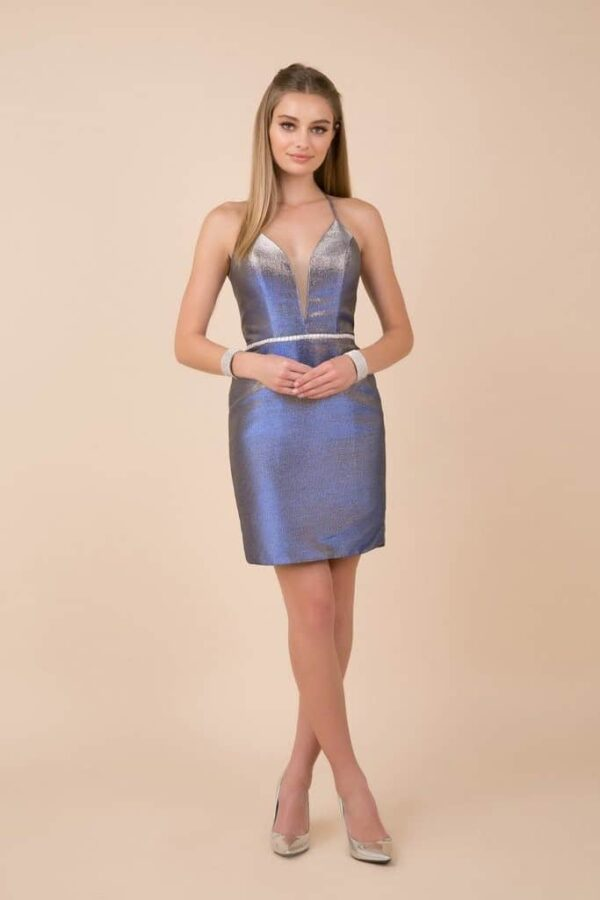 Nox Anabel Dress Style M690 in Royal Blue | Silhouette London