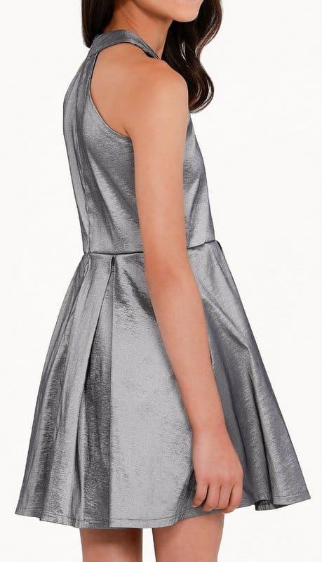 Sally Miller Platinum Dress Back