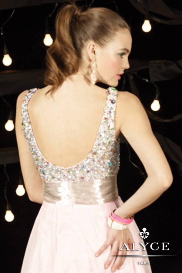 3592 sweet 16 dress back 1