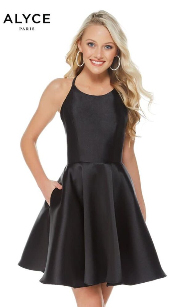 Alyce Paris Dress Style 3703 - Black