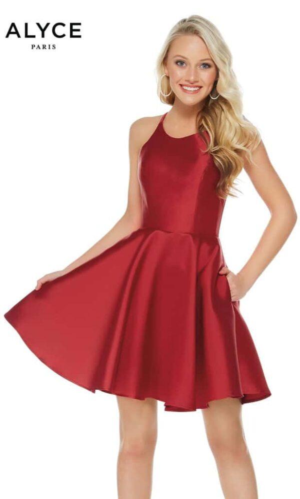 Alyce Paris Dress Style 3703 - Burgundy