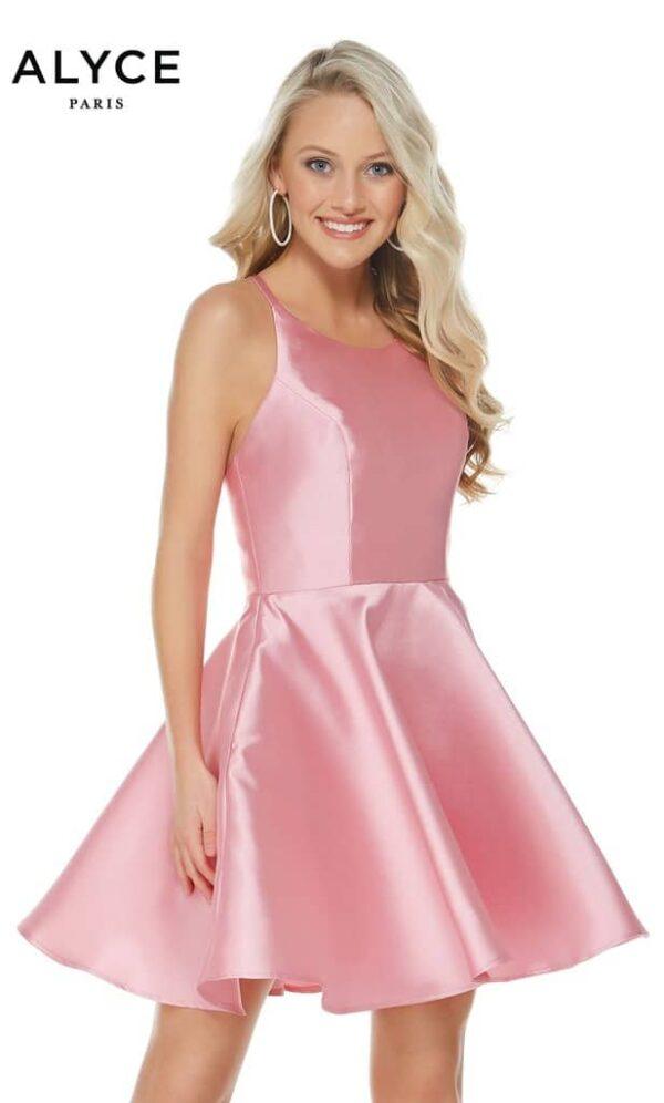 Alyce Paris Dress Style 3703 - Pink