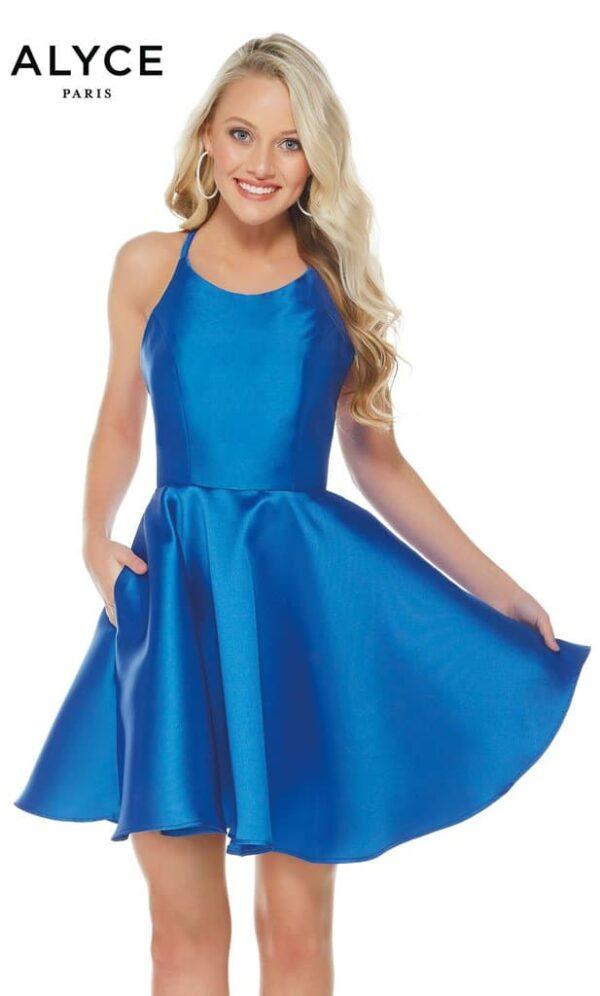 Alyce Paris Dress Style 3703 - Royal