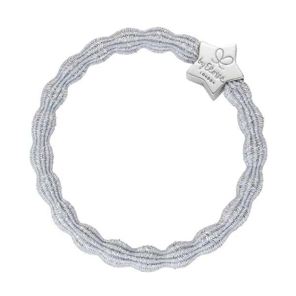 ByEloise Metallic Silver Star Silver