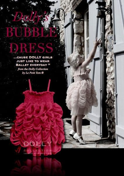 bubble dress ruby red 2