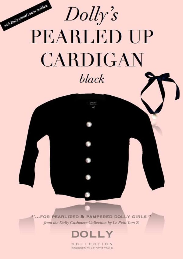 Dolly Le Petit Tom Cardigan in Black