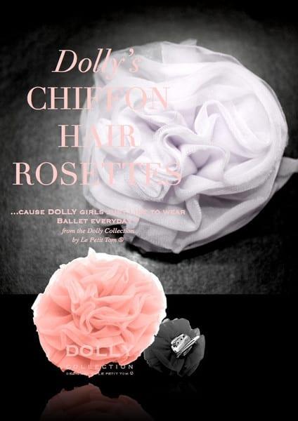 Chiffon rosette