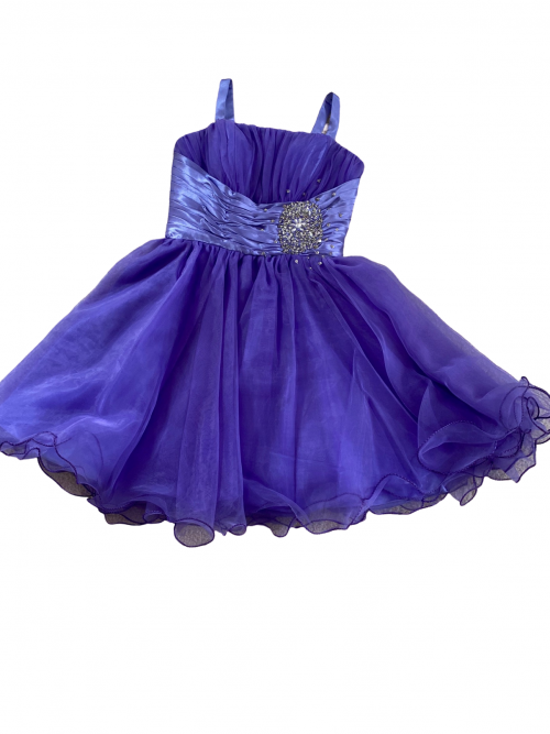 Purple Silhouette Prom Dress Orlina