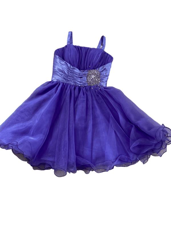 Purple Silhouette Prom Dress Orlina