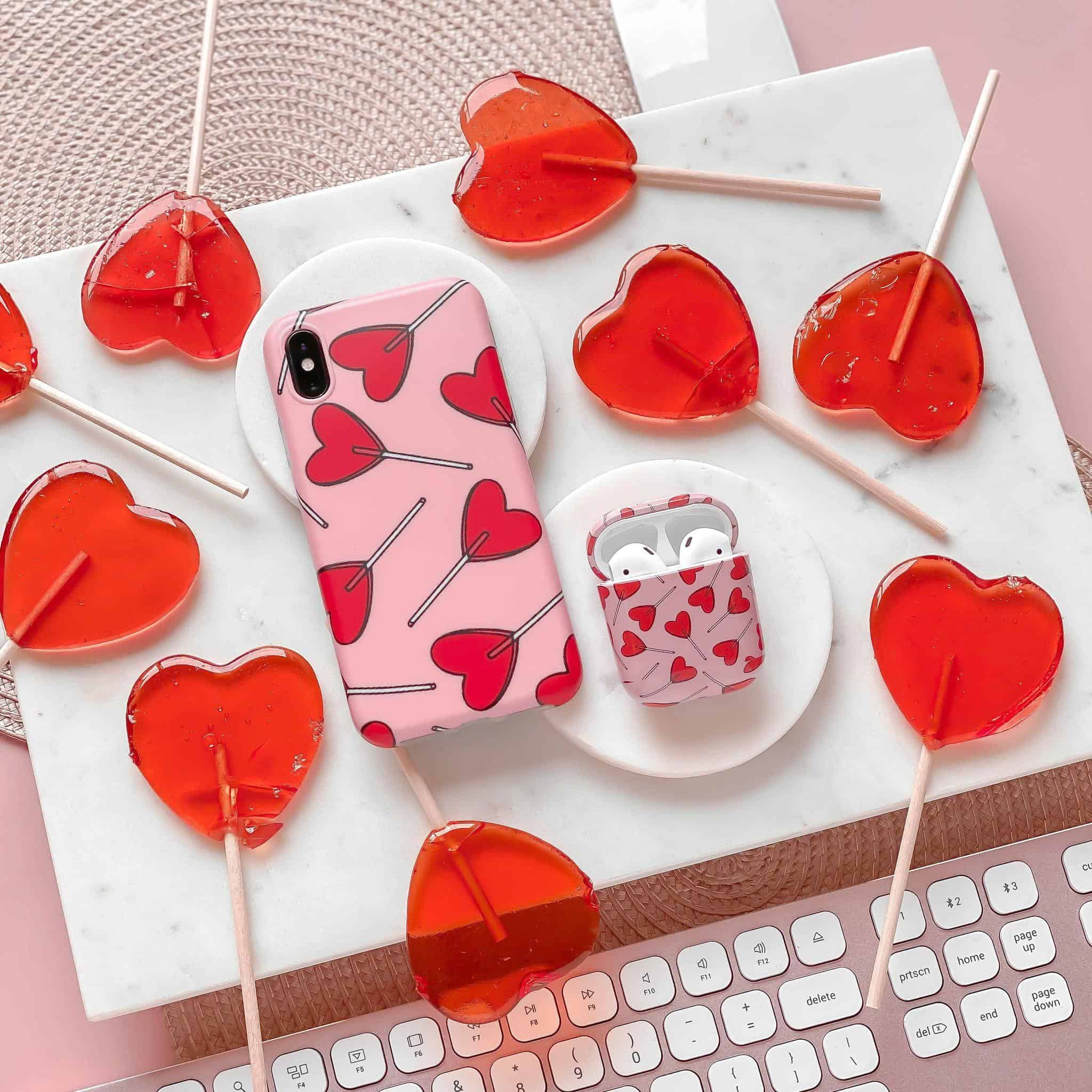 Candy Hearts Phone Case | Silhouette London