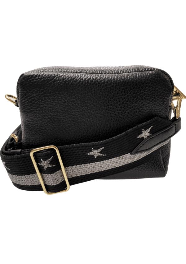 Black Bag 16x12 Silver Star Strap