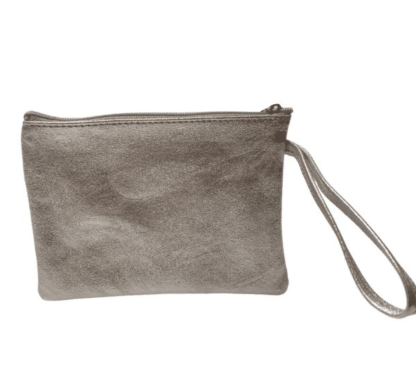 Silver Clutch Bag 18.2x13.5 2