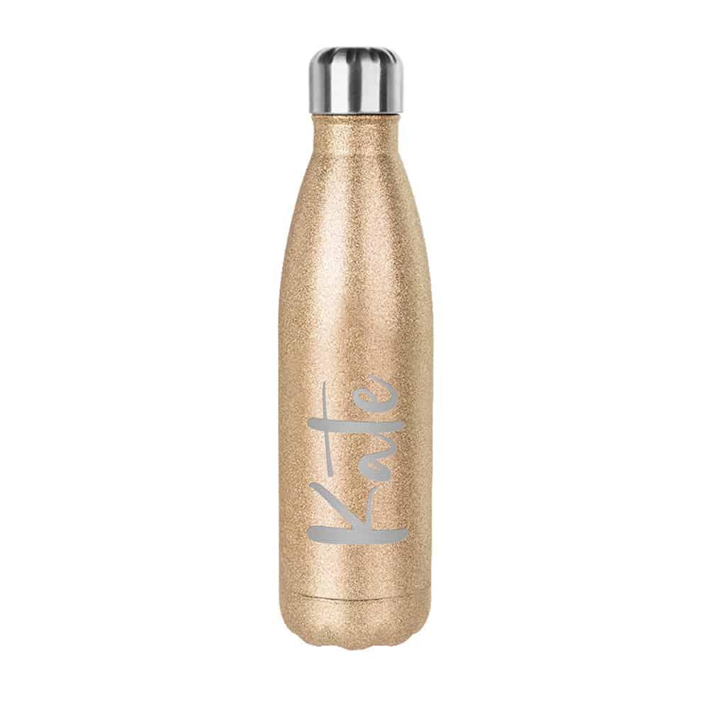 Gold Glitter Bottle