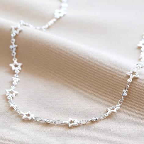 Lisa Angel starry choker necklace silver o21a1595 472x472 1
