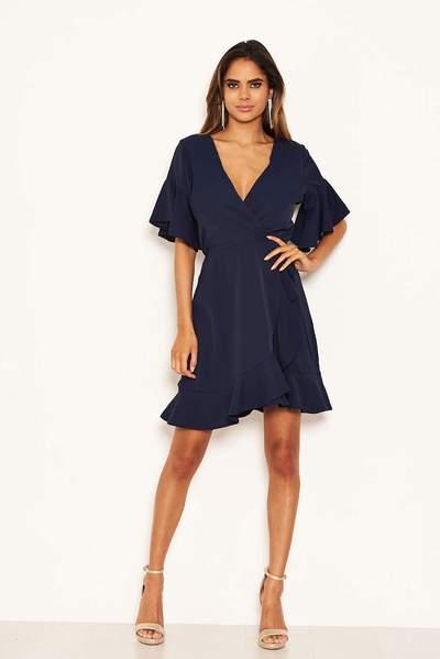 navy wrap frill dress 20 2 25e0dceb cfad 4dcd 9f6a b1dcd9eff062 grande
