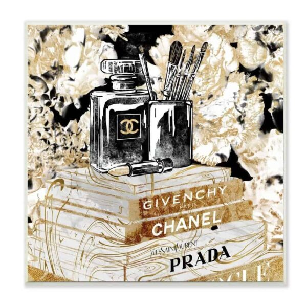 Black Gold Fragrance Make Up and Books