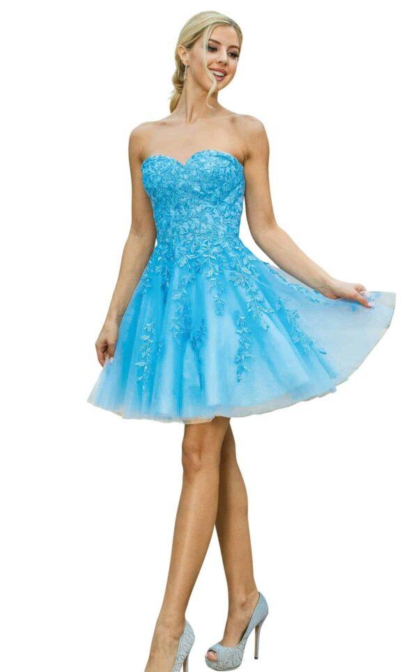 Dancing Queen Dress 3271 in Bahama   Silhouette London