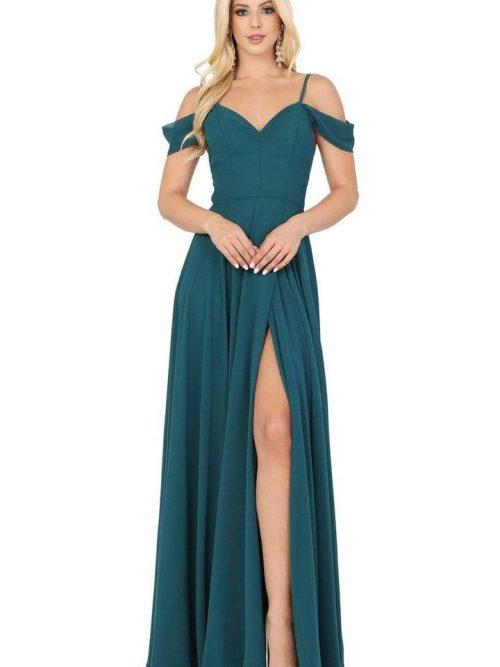 Dancing Queen Dress Style 2961 in Hunter Green