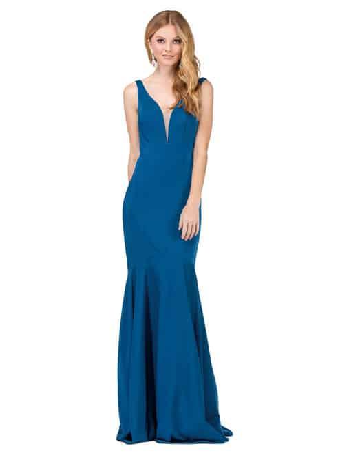 Dancing Queen Dress Style 2186 in Teal