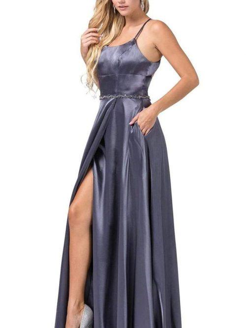 Dancing Queen Dress Style 2652 Charcoal