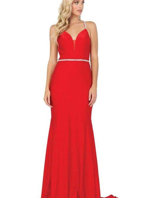 Dancing Queen Dress Style 4078 in Red