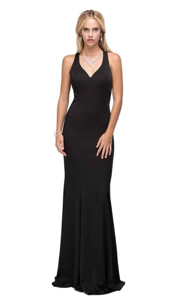 Dancing Queen Dress Style 9637 in Black